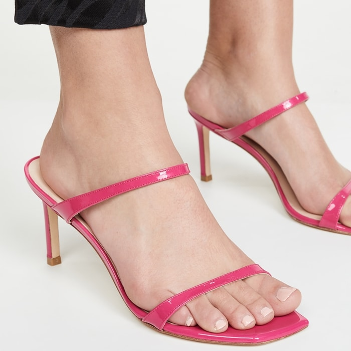 Stuart Weitzman's Aleena heeled sandals make for the perfect choice of the occasion