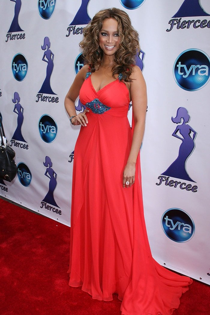 Tyra Banks hosts the First Annual Fiercee Awards to Honor the Women of America's Next Top Model