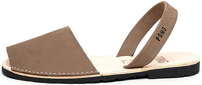Taupe Avarca Pons Sandals