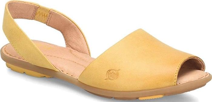 Yellow Born Trang Sandals