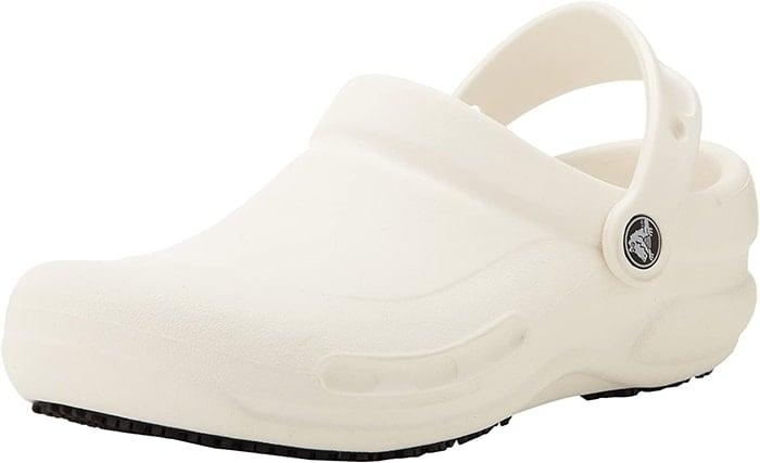 White Crocs 'Bistro' Clogs