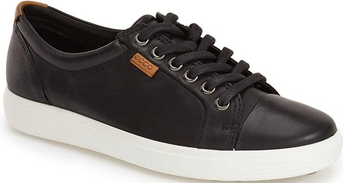 Black Ecco Soft 7 Sneakers