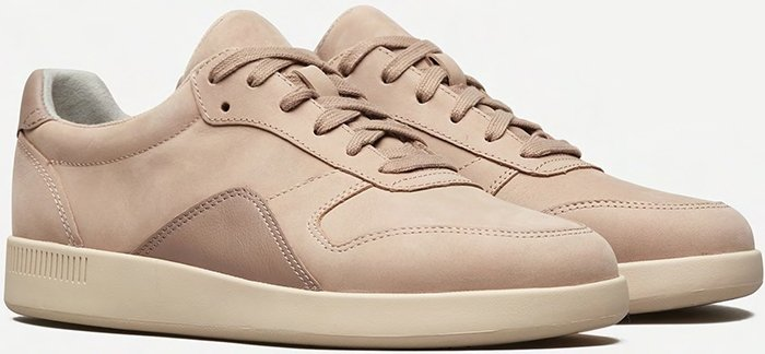 This versatile leather sneaker is the lowest impact of its kind, which means it uses less waste, less energy, and less virgin plastic