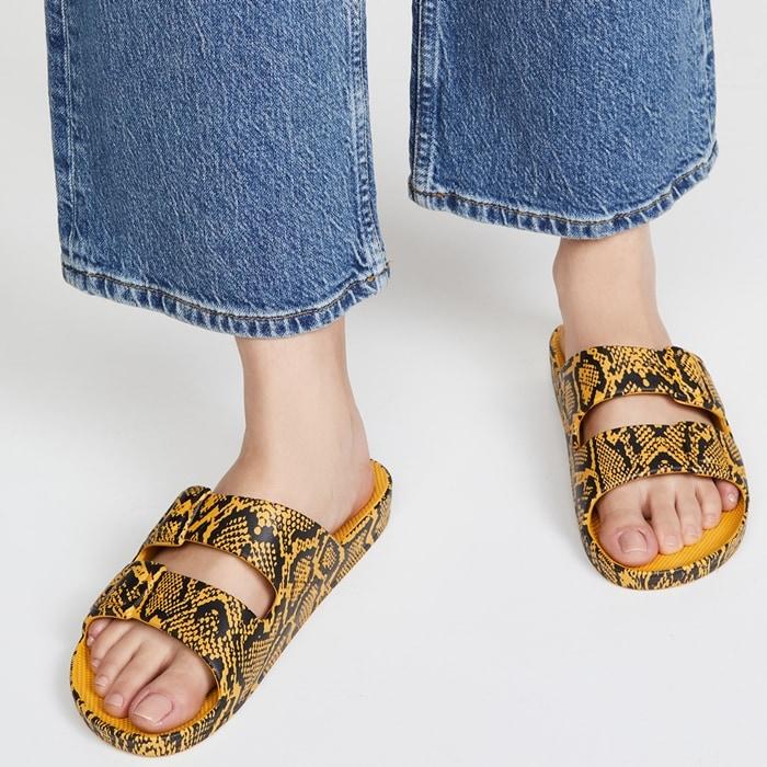 Cobra Snakeprint Summer Sandals