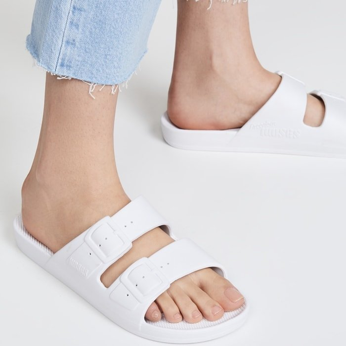 Classic White Summer Slip-Ons