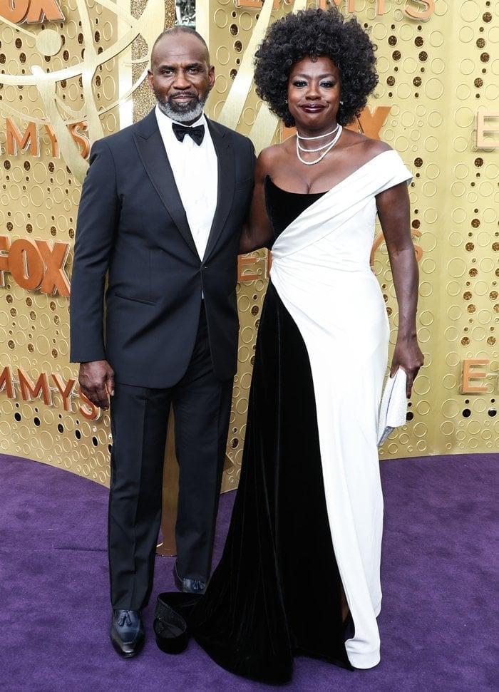 Julius Tennon and Viola Davis arrive at the 71st Annual Primetime Emmy Awards