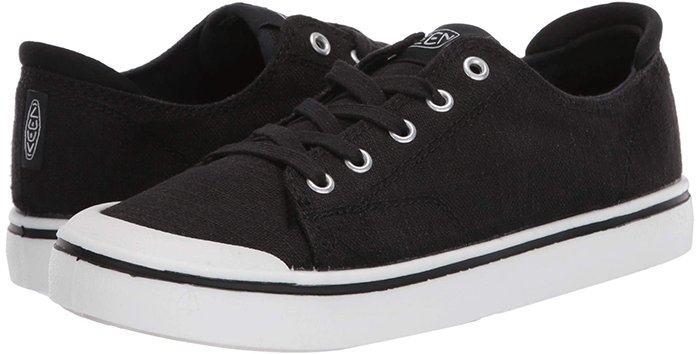 This comfortable canvas lace-up sneaker is in it for the long haul