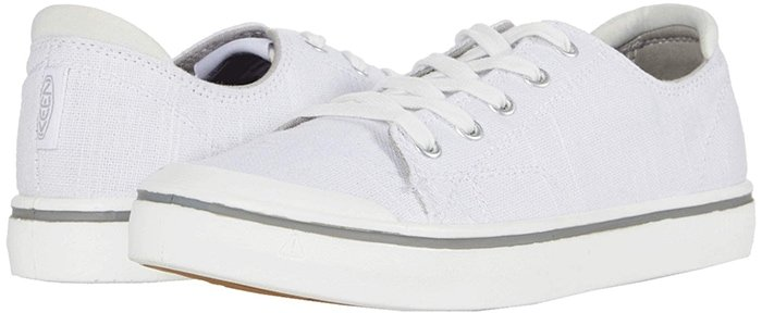 These stylish sneakers feature a soft heel panel for added comfort and a foot-hugging fit that keeps you comfortable and supported through every walk through the city