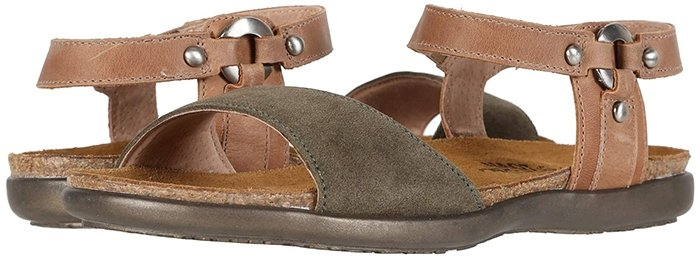 Look fantastic all season long in this easy slip-on style sandal from Naot Footwear