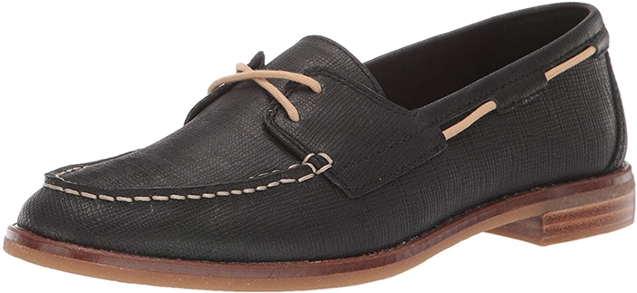 These shoes feature a cushioned insole for all-day comfort and a flexible non-marking rubber outsole for traction