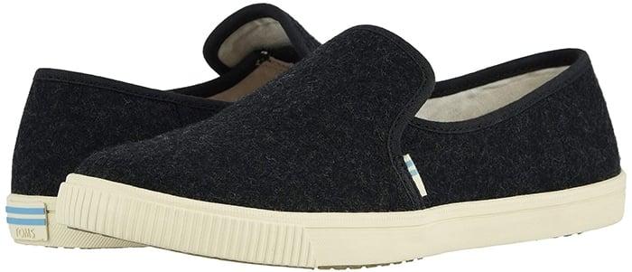Black Toms Clemente Slip-On Shoes