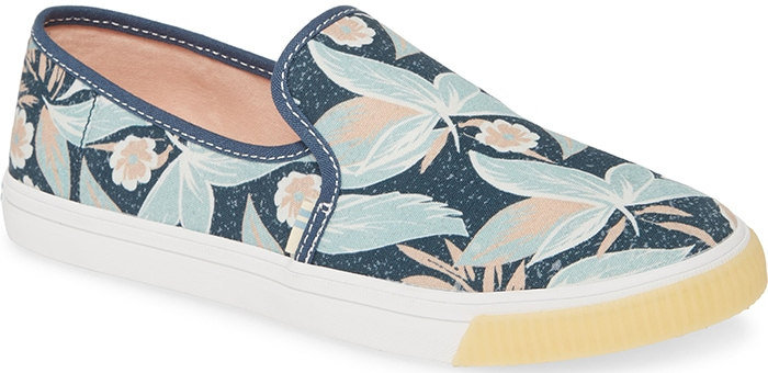 Floral Toms Clemente Slip-On Shoes