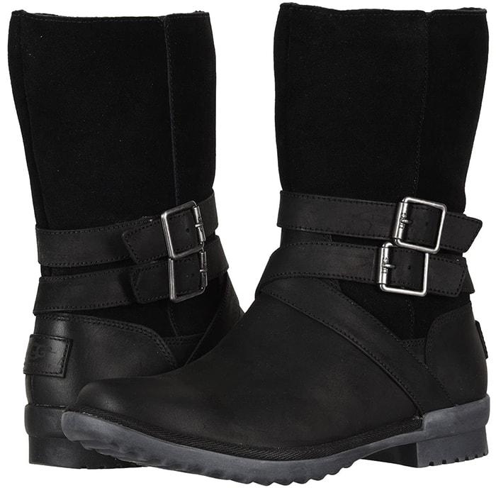 Black UGG Lorna Waterproof Boots