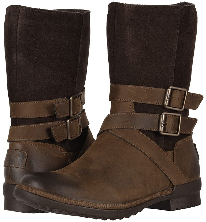 Stylish, weatherproof travel boot with a vintage feel