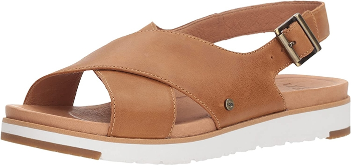 With its smooth upper, cushy foam footbed, durable outsole, and tapered-strap design, Jurupa is the perfect summer slide