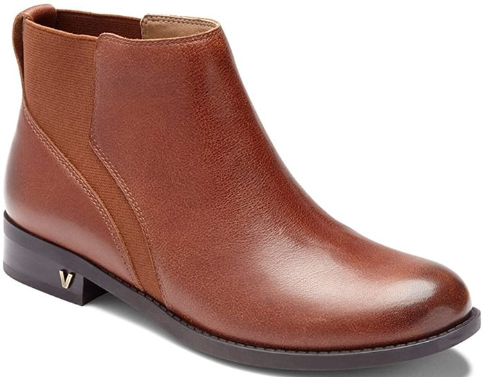 Chocolate Vionic Thatcher Ankle Boots