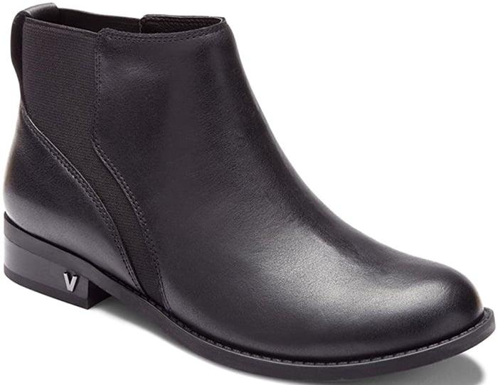 Black Vionic Thatcher Ankle Boots