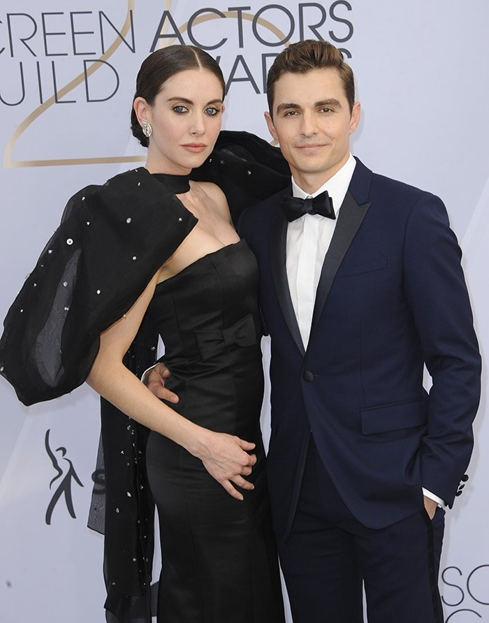 Alison Brie and Dave Franco at the 25th Screen Actors Guild Awards on January 27, 2019
