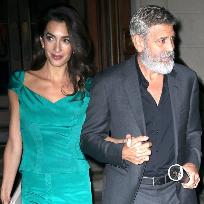 Amal Clooney has an estimated net worth of $10 million and her husband George Clooney's net worth is estimated to be around $250 million