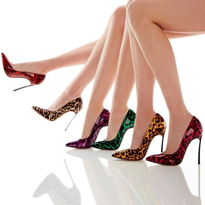 Exotic Jungle Love high heels Casadei pumps