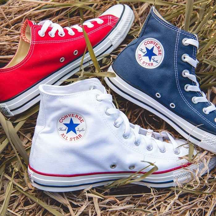 Eastbay carries Chuck Taylor All-Stars in many different colors