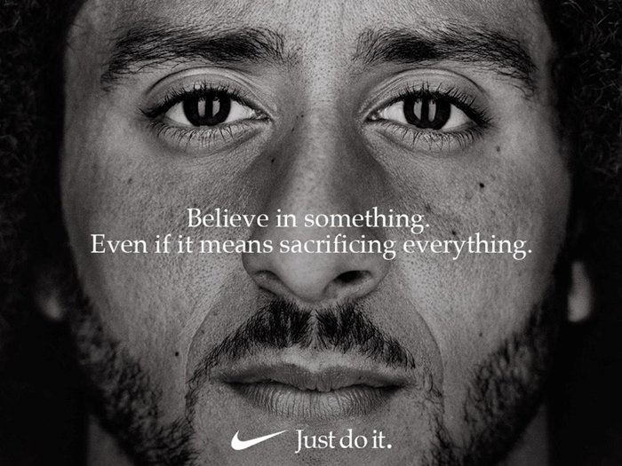 Many Americans called for a boycott of Nike after the company included controversial NFL player Colin Kaepernick in its 30th-anniversary campaign
