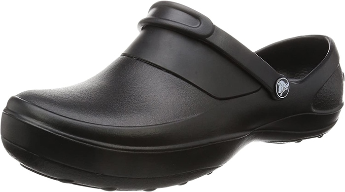 Black Crocs Mercy Work Clogs