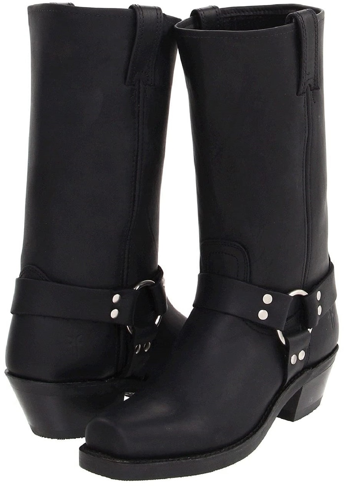 Flaunt your fabulous fashion know-how with these flattering Frye Harness 12R boots
