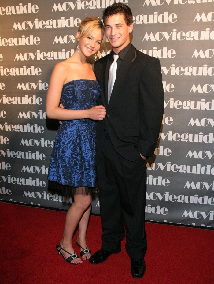 Jennifer Lawrence and Clay Adler attended the Movieguide Awards together in 2007