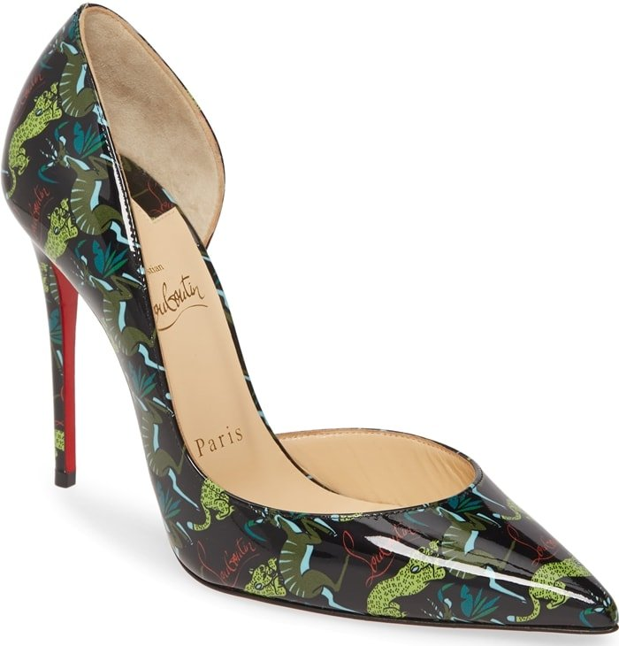 Strut the streets of the concrete jungle in this killer pair of stilettos in an always-chic half d'Orsay silhouette
