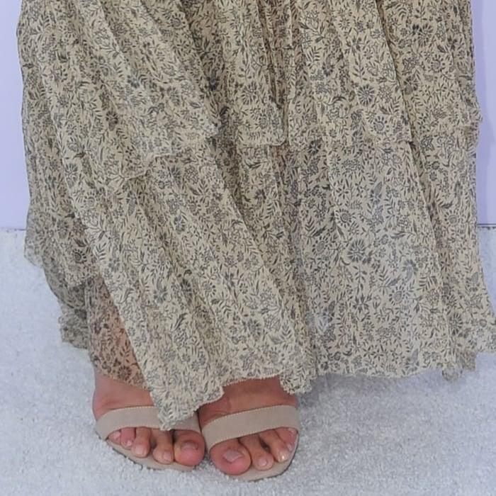 Lauren Conrad's feet are shoe size 7.5 (US) / 38 (EU)