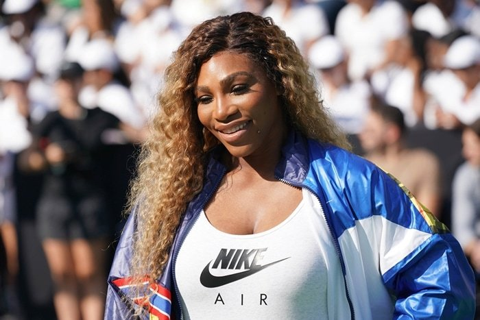 """Serena Williams attends the """"Queens of Tennis"""" experience hosted by Nike at William F. Passannante Ballfield"""