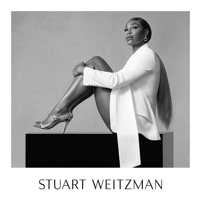 Serena Williams stars in Stuart Weitzman's 2020 Ad Campaign
