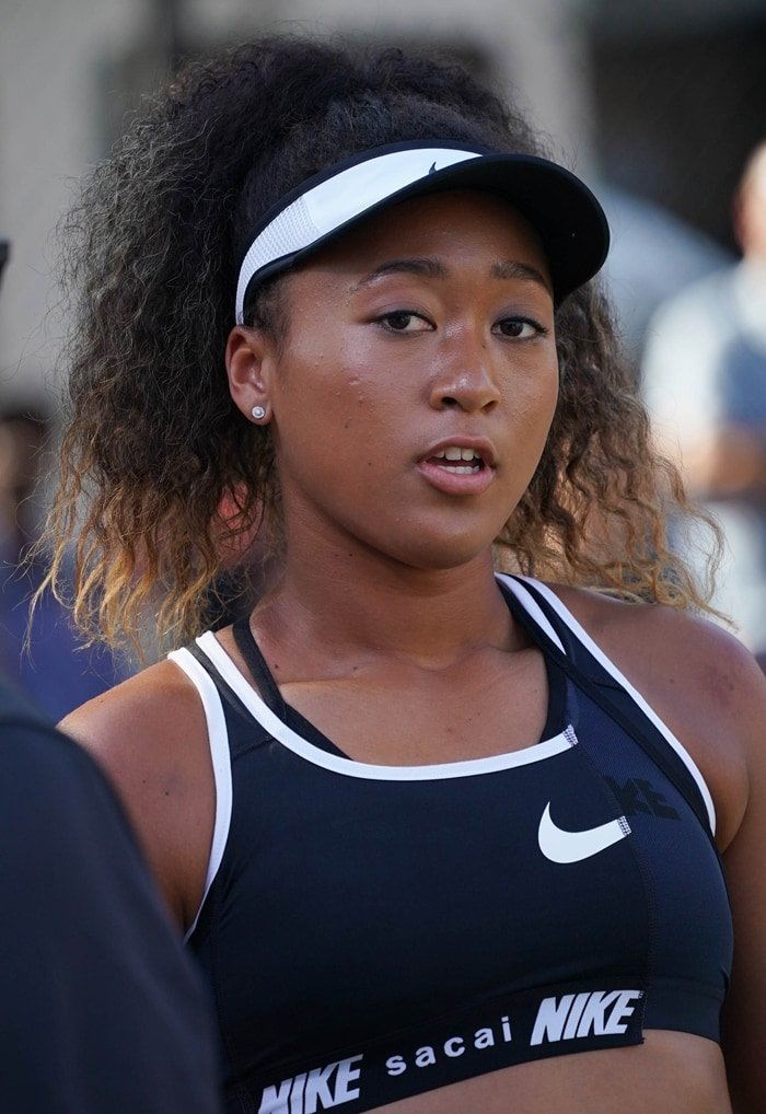 Tennis star Naomi Osaka signed an endorsement deal with Nike in 2019