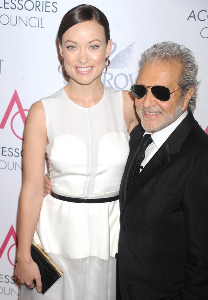 Vince Camuto and Olivia Wilde attend the 16th Annual Ace Awards