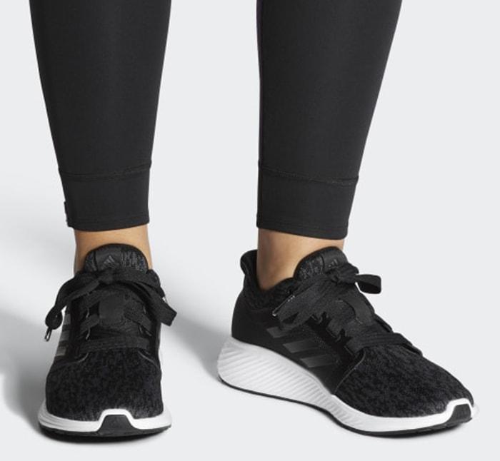 Black Adidas 'Edge Lux 3' Shoes