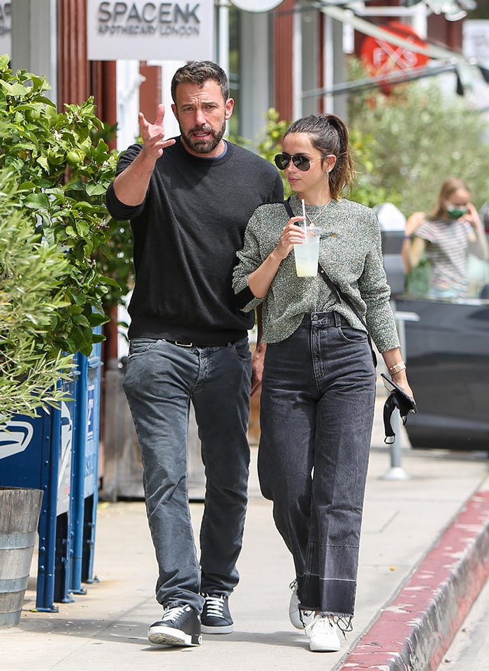 Ben Affleck and Ana de Armas step out for a lunch date a week after returning from their Georgia vacation