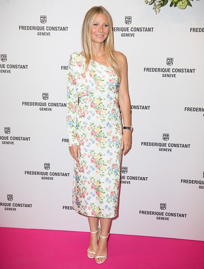 Gwyneth Paltrow at the launch party of her collaboration with Frederique Constant on June 21, 2018