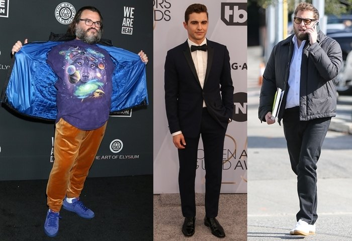 Jack Black, Dave Franco, and Jonah Hill all measure 5 feet 7 inches and are among the shortest actors in Hollywood