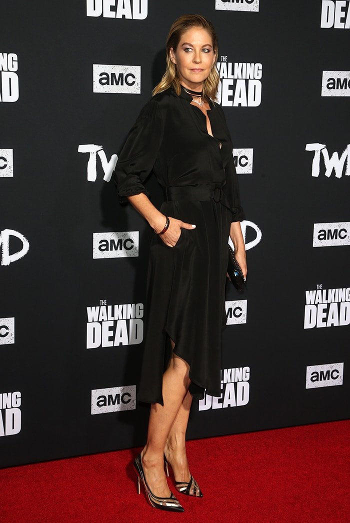 Jenna Elfman at The Walking Dead Premiere and Party on September 24, 2019