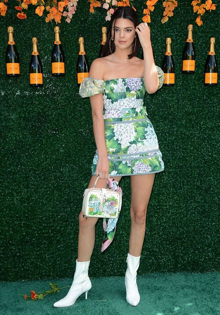 Kendall Jenner at the The 10th Annual Veuve Clicquot Polo Classic at Liberty State Park on June 4, 2017