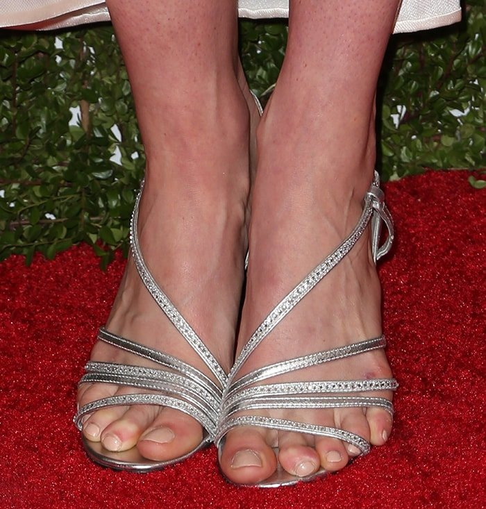Missy Franklin holds the biggest foot size of 13