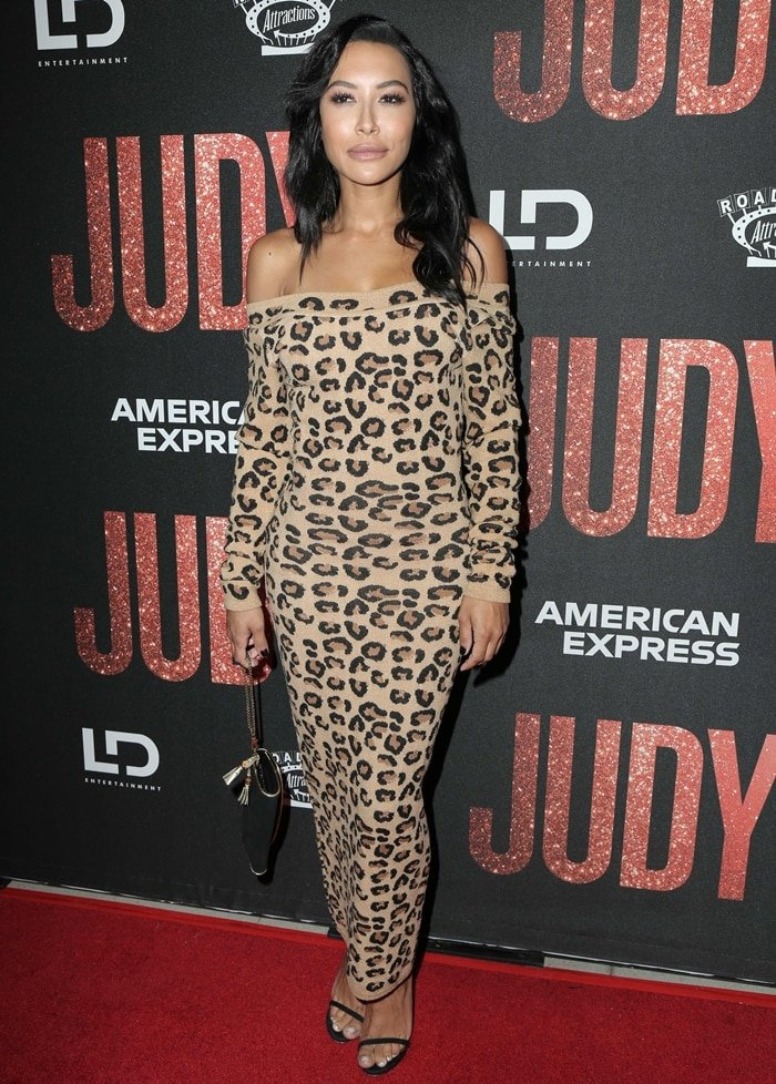 "Naya Rivera attends the LA Premiere Of Roadside Attraction's ""Judy"""