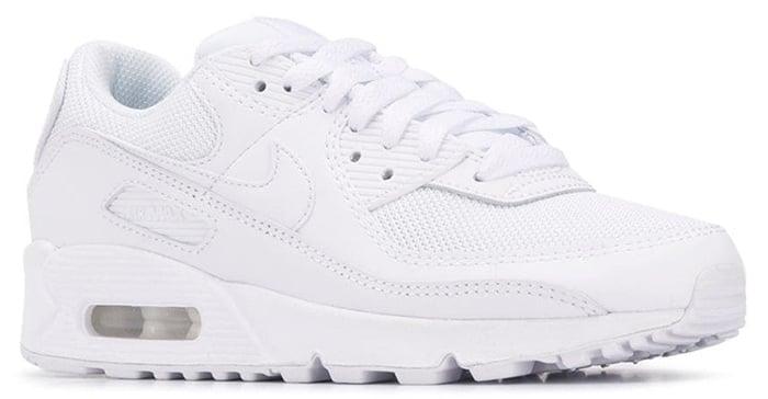 Nike Air Max 90 sneakers in Triple White