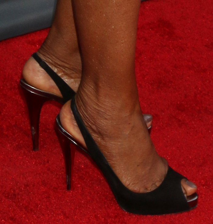 Oprah Winfrey's size 11 shoes