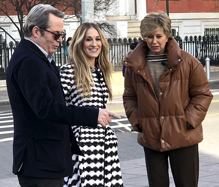 Sarah Jessica Parker and her husband Matthew Broderick