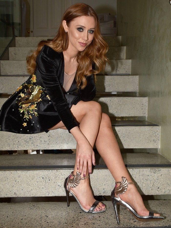 Una Healy launches Una Healy Original Collection lady shoes at The Morrison Hotel in Dublin