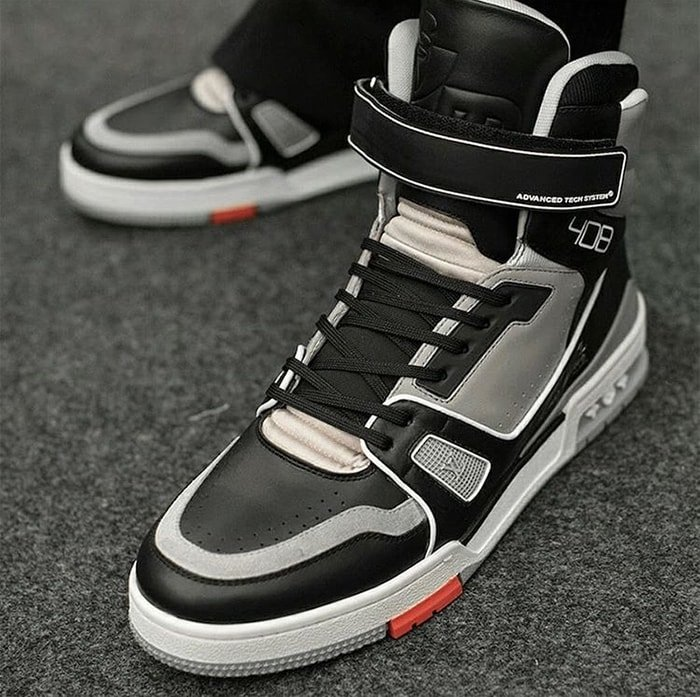 Virgil Abloh x Louis Vuitton high-top sneakers