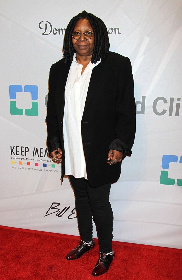 Whoopi Goldberg at Keep Memory Alive event on April 13, 2013