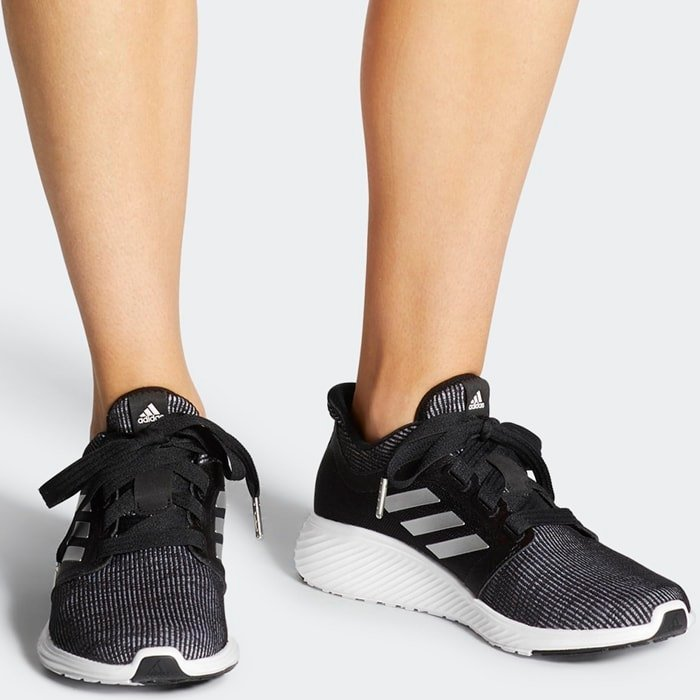 Black Adidas Women's Edge Lux 3 Running Shoes